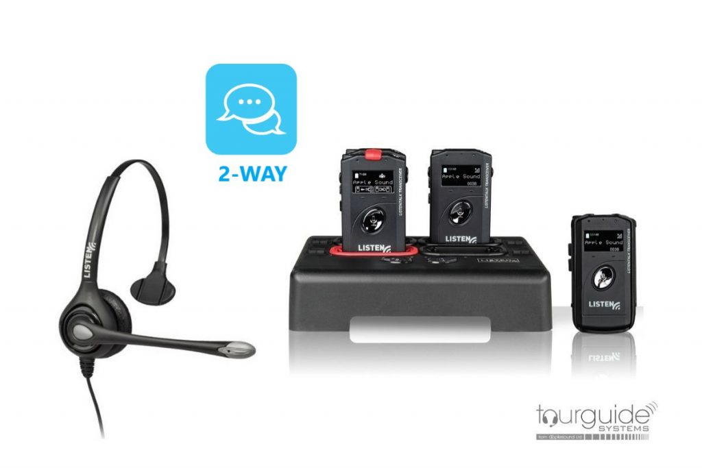 Two-way headset communication system