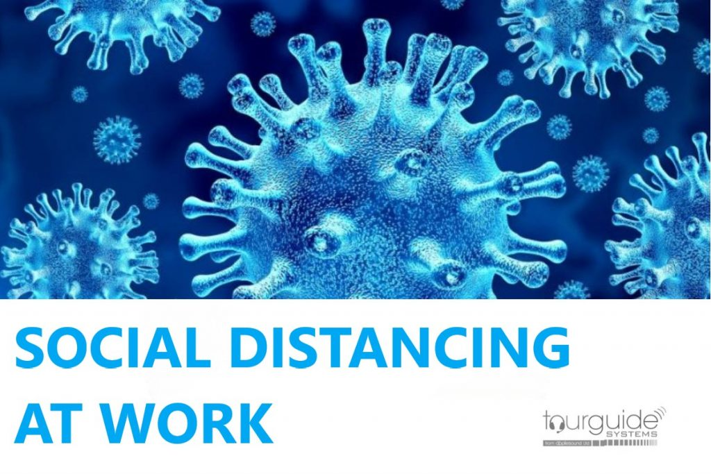 communications for social distancing at work